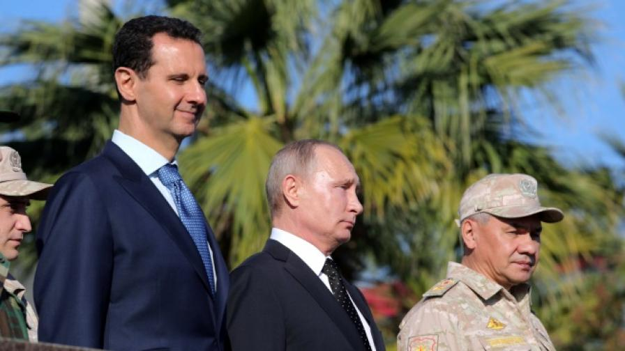 Русия среща съпротива от Асад и Иран