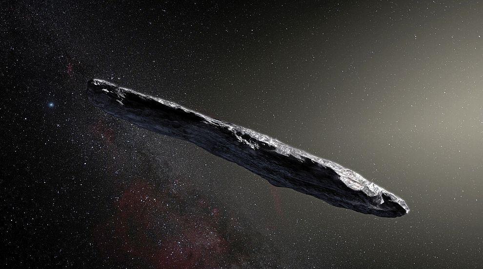 """Нова """"извънземна"""" теория за загадъчния пришълец Оумуамуа"""
