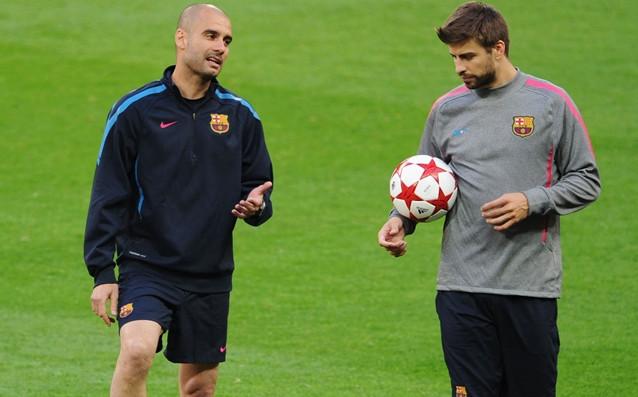 Защитникът на Барселона Жерар Пике се изказа ласкаво за работата