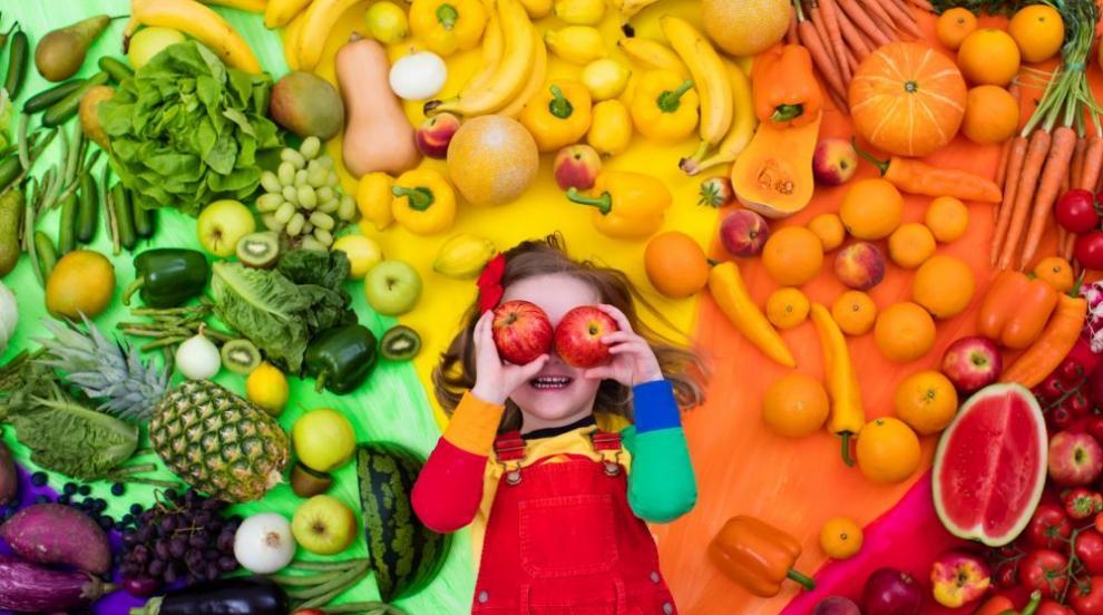 Плодовете и зеленчуците осигуряват психическото здраве на децата