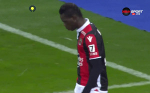Ница - Бордо 1:0 /първо полувреме/