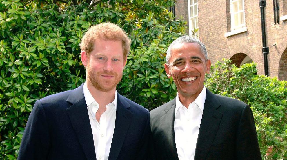Принц Хари интервюирал Барак Обама (СНИМКИ/ВИДЕО)