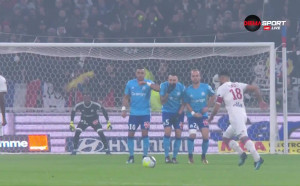 Лион - Марсилия 1:0 /първо полувреме/