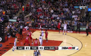 Торонто се справи със Сакраменто в НБА