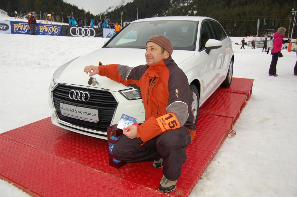 Късметлията изрови чисто нов автомобил под снега на Бъндеришка поляна