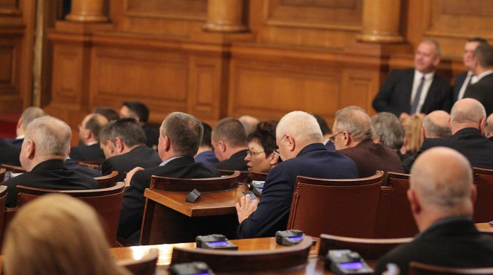Парламентът обсъжда искането за освобождаване на Валери Жаблянов