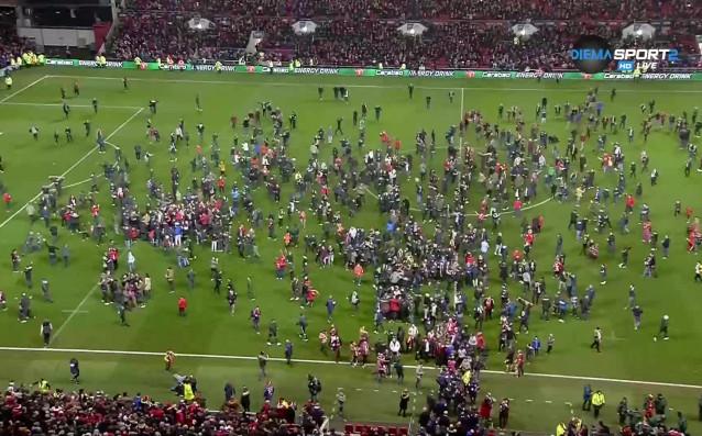 Бристол Сити сътвори шокиращ завършек на мача си с Манчестър