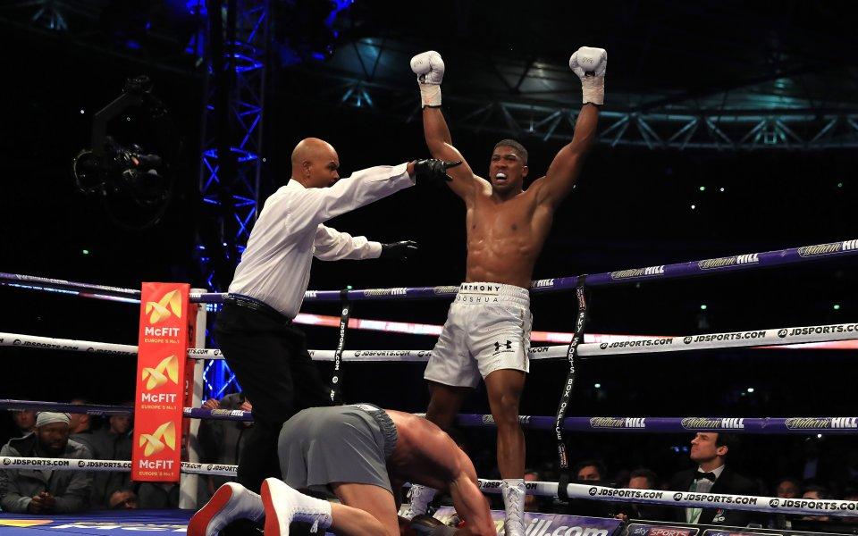 Април 2017: Новият крал на бокса