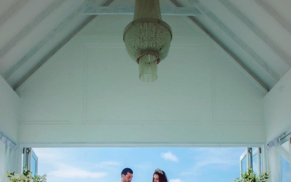 Галин Иванов вдигна сватба на Малдивите