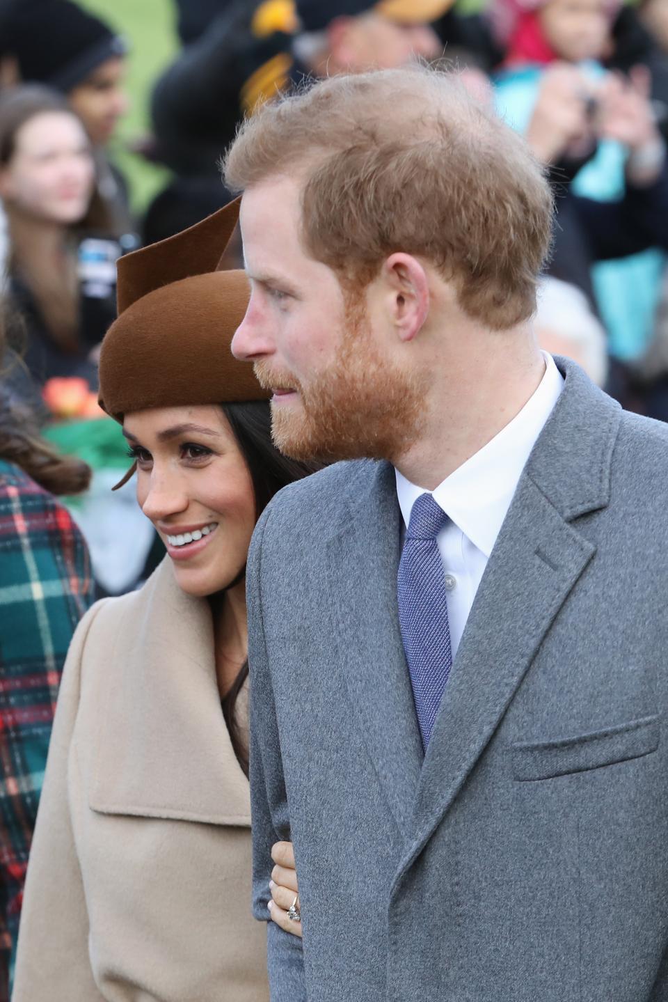 Традиционната коледна служба на кралското семейство, 25 декември, 2017 година