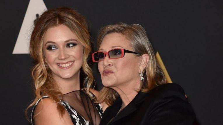 Дъщерята на Кари Фишър почете паметта на майка си по емоционален и красив начин