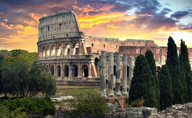 Колизеума, Рим, Италия
