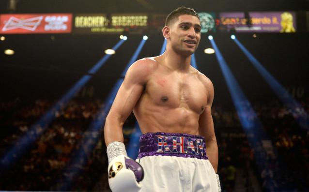 Бившият световен шампион по бокс в супер-лека категория Амир Кан