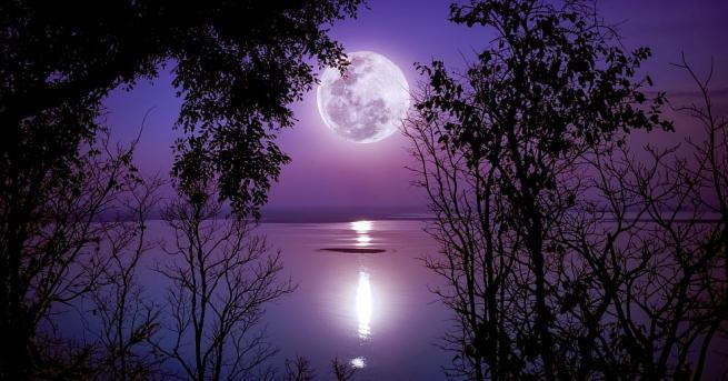 """Снимка: """"Супер снежна луна"""" ще блесне на небето тази нощ"""