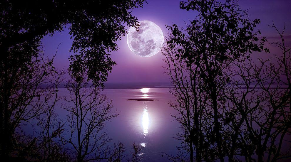 """""""Супер снежна луна"""" блести в небето тази нощ (ВИДЕО)"""