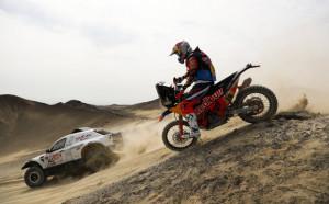 Ал Атия спечели 3-ия етап на Дакар, Петерханзел - лидер