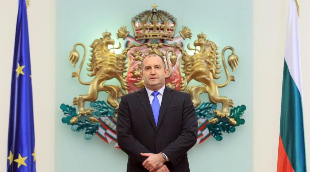 Галъп: Президентът Радев се радва на около 60% одобрение от българите