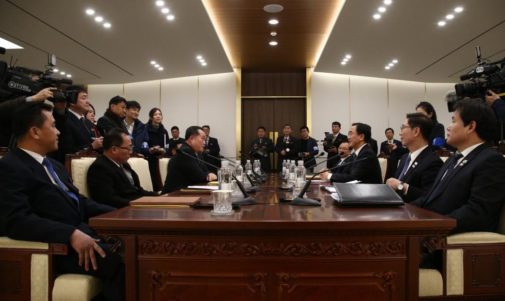 Северна Корея Южна Корея преговори