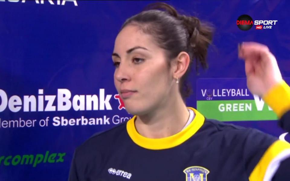 Волейболистка на Марица подсили финалиста в Шампионска лига