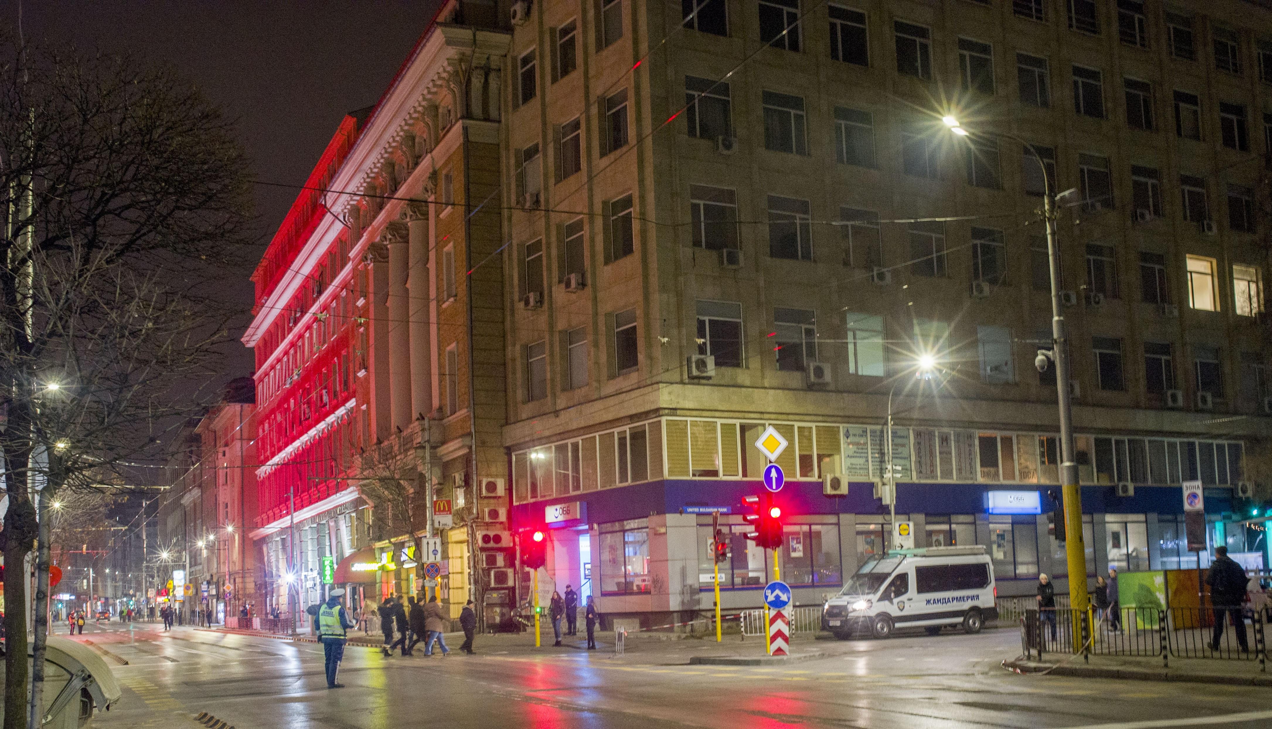 Заради официалното откриване на европредседателството вчера, 11 януари, редица централни улици бяха затворени. Забраната бе въведана на 10 януари и ще продължи до днес