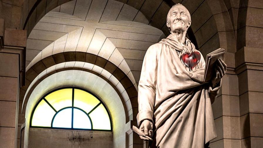 Къде се намира днес сърцето на Волтер