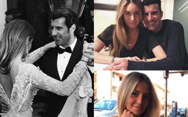 Тези дни най-голямата дъщеря на екс-звездата от Португалия Луиш Фиго