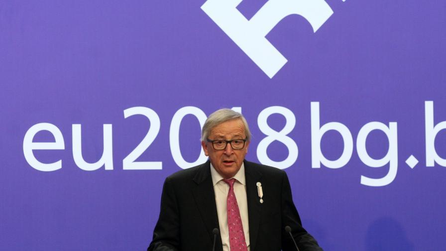 Юнкер похвали България и Борисов за Македония