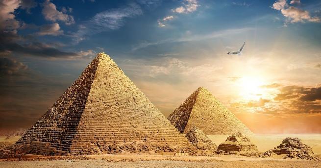В Египетския музей в Кайро е изложена