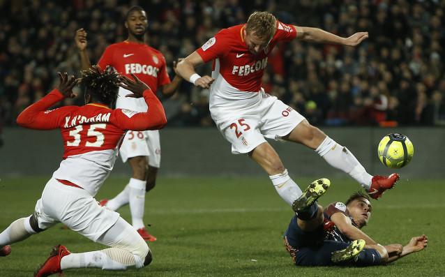 Отборът на Монпелие се оказа корав съперник за Монако. В