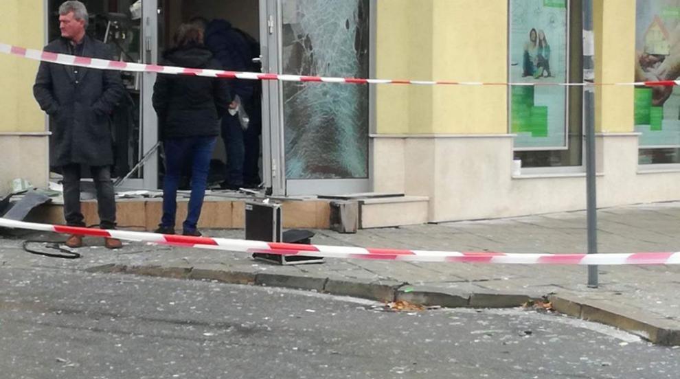 Пореден взрив на банкомат (ВИДЕО)