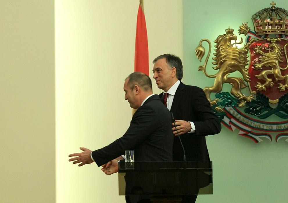 Президентът Радев се срещна с черногорския си колега Филип Вуянович