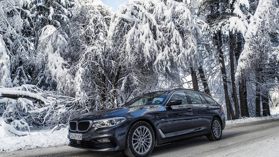 BMW 530d Touring: Ефективна динамика (тест-драйв)