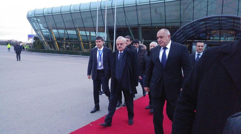 Откриха новата авиолиния Баку-София (СНИМКИ/ВИДЕО)