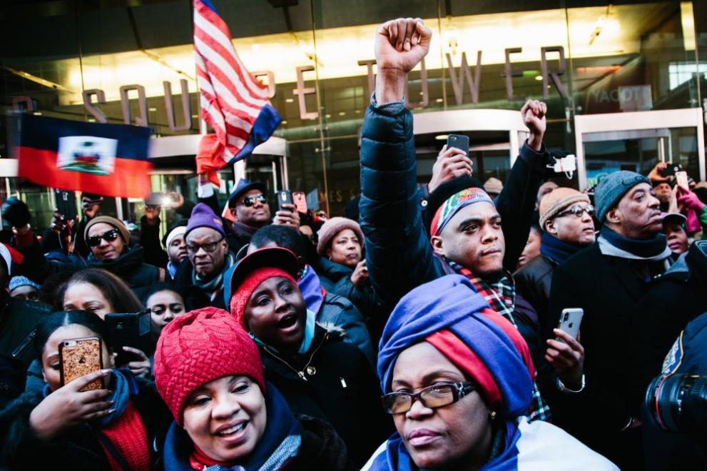 протест срещу Тръмп