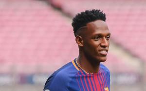 Йери Мина е готов да дебютира за Барселона