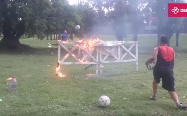 Така се калява стоманата - огнена тренировка за вратари