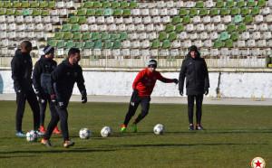 ЦСКА и Левски като близнаци в тренировките
