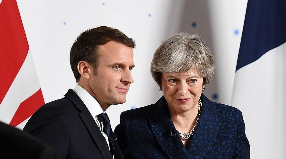 Франция и Великобритания сключиха споразумение за граничната сигурност