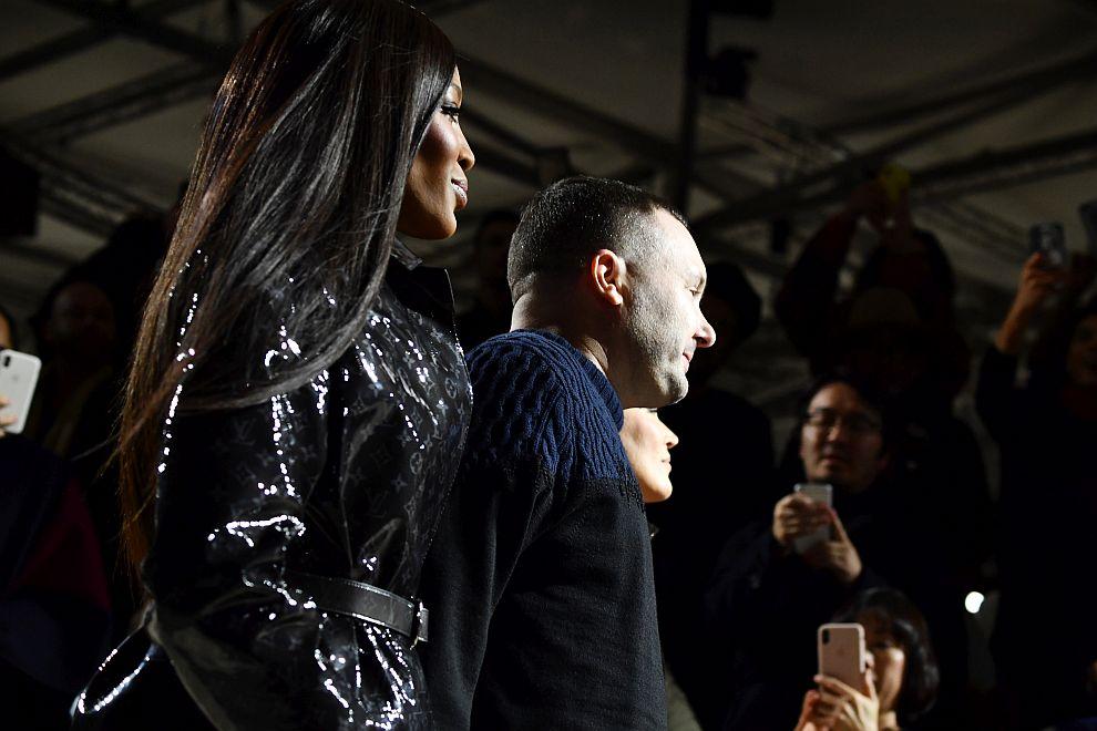 Легендарните Кейт Мос и Наоми Кембъл на ревюто на Луи Вюитон в Париж
