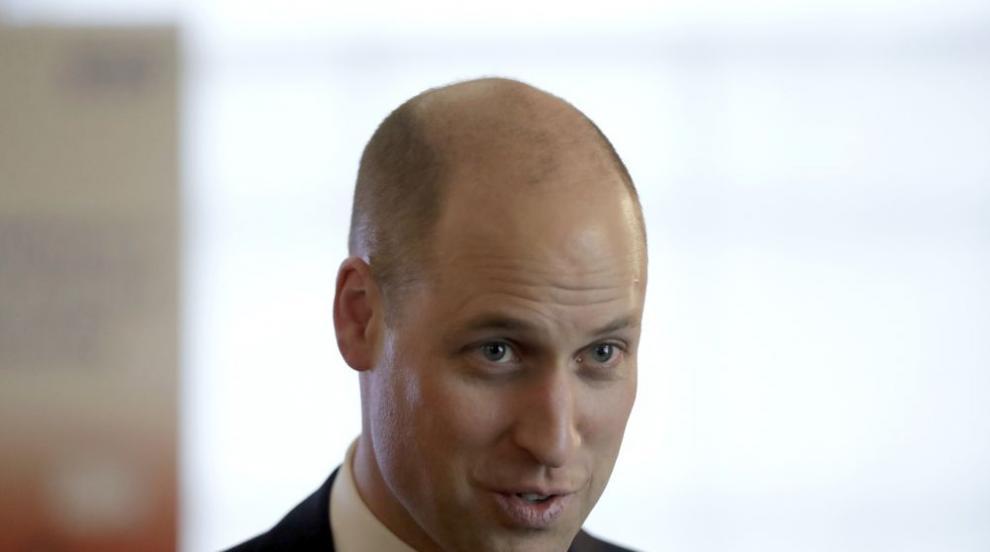 Принц Уилям се появи с нова прическа (СНИМКИ)