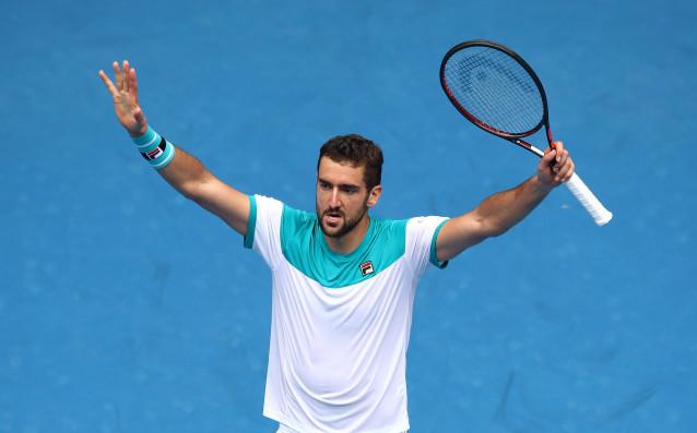 Чилич е първият четвъртфиналист на Аустрелиън Оупън