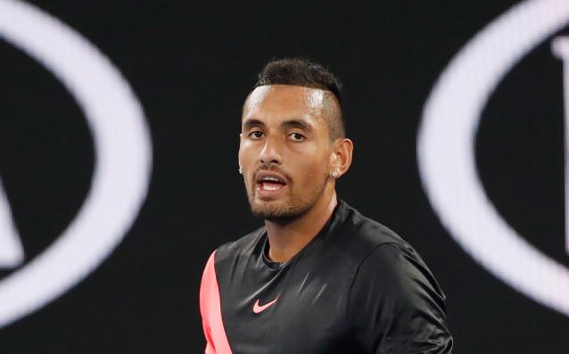 Австралиецът Ник Кириос отказа участие на турнира по тенис в