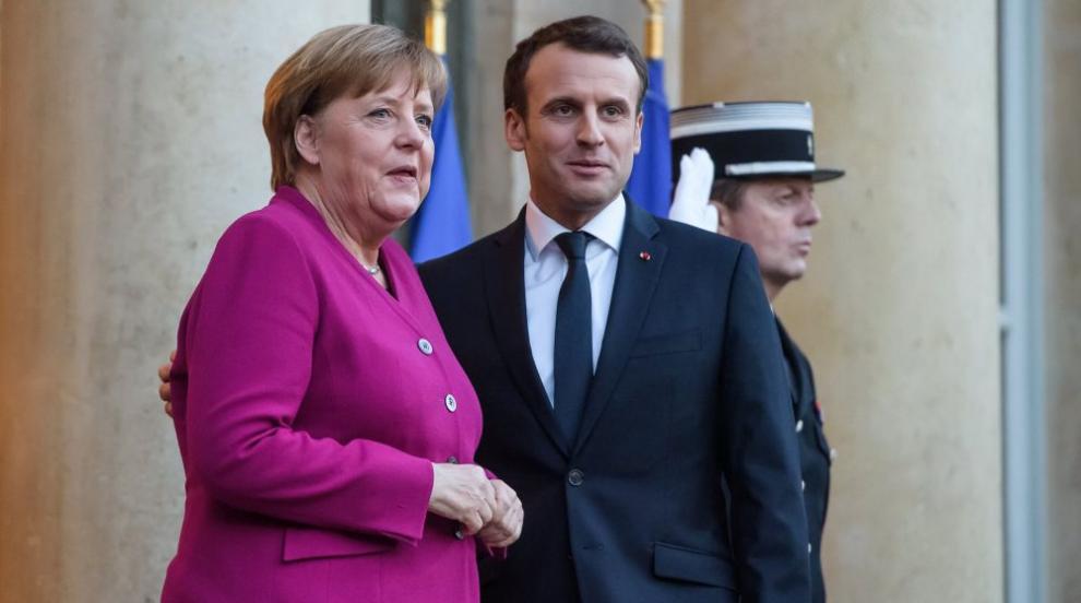 Макрон отказал да се появи заедно с Меркел в Мюнхен