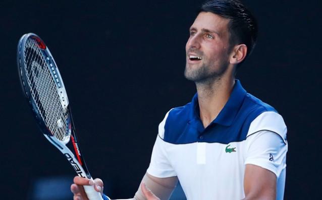 Сръбската тенис звезда Новак Джокович зарадва феновете, които гледаха една