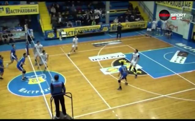 Отборът на ВК Левски нямаше особени проблеми срещу Добруджа 07