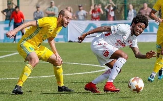 Астана на Станимир Стоилов победи с 3:2 Спартак Москва, където