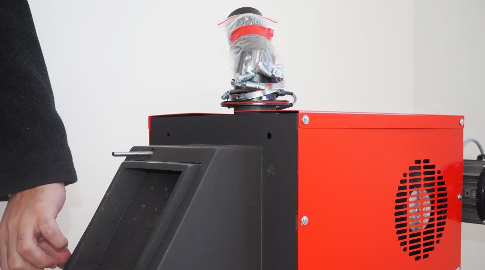 Разградски изобретатели патентоваха пелетна горелка (СНИМКИ)