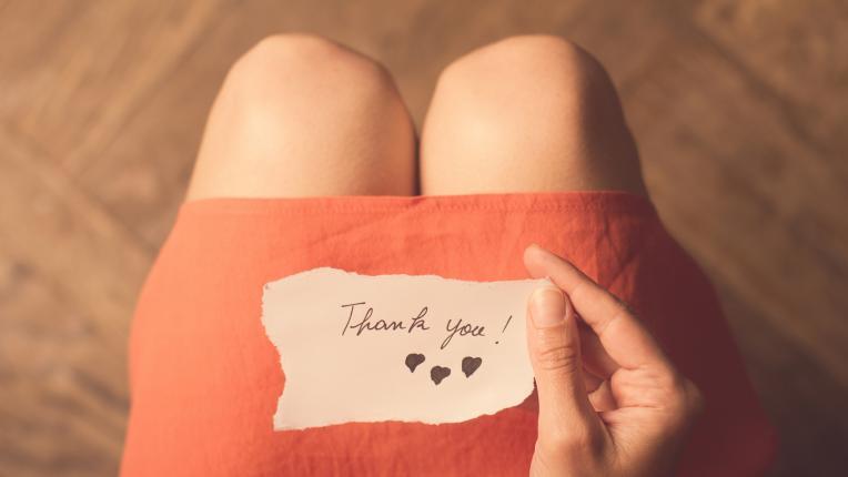 Няма начин да предозирате с благодарността