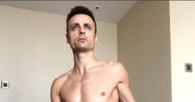 Българската футболна звезда Димитър Бербатов подлуди феновете си с полуголи