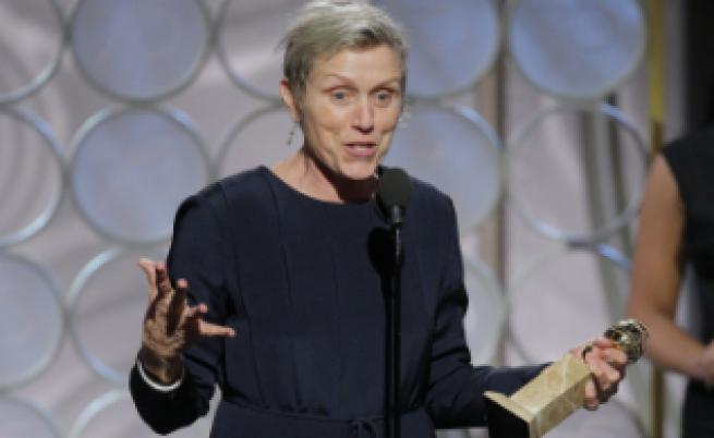 Мъж открадна Оскара на най-добрата актриса, хванаха го